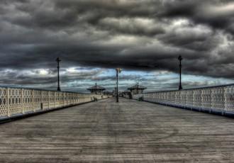 Stormy_Llandudno_Pier